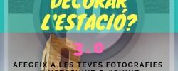 Imatge de En marxa el 3r concurs d'InstaCunit per a decorar l'estació de tren 1