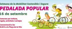 Imatge de Pedalada popular a Cunit a favor d'un transport més sostenible 9
