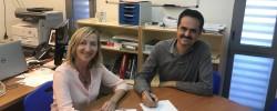 Imatge de L'Ajuntament i l'Institut signen un conveni pel projecte REACCIONA. 6