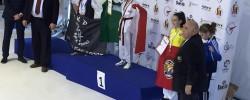 Imatge de L'esportiu My-Ju Cunit s'emporta dues medalles de bronze i dues quartes posicions al Campionat d'Europa de Taekwondo 10