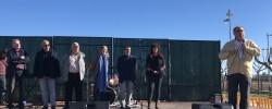 Imatge de Èxit d'assistència a la inauguració dels patis oberts de Cunit 6