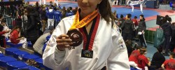 Imatge de La cunitenca Myriam Córdoba s'emporta la medalla de bronze de taekwondo al Dutch Open Eindhoven 6