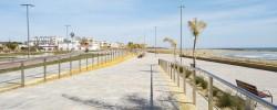 Imatge de El subdelegat del Govern central visita el tram remodelat del Passeig Marítim 11