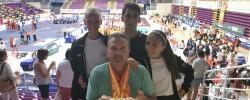 Imatge de David Lorente i Jada Van Wijngaarden Campions d'Espanya de Taekwondo 3