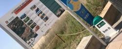Imatge de Cunit senyalitza la Ruta de la Transhumància 8