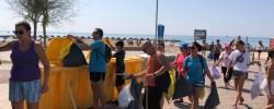 Imatge de Primera acció de recollida de plàstics a la platja 7