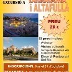 Excursió a Tarragona i Altafulla del Casal de la Gent Gran de Cunit