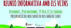 Imatge de L'Ajuntament convoca 5 reunions veïnals per tractar sobre el nou servei de transport urbà 11