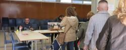 Imatge de 3.803 electors han votat a Cunit fins les 14h 12