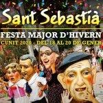Cunit celebra la Festa Major d'Hivern en honor de Sant Sebastià