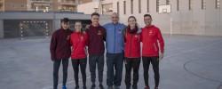 Imatge de Una tarda de valors amb FutbolNet i amb l'ex jugador del Barça, Antoni Pinilla 5