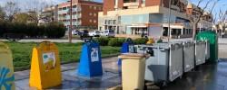 Imatge de Primers treballs de desinfecció a les zones de contenidors 1
