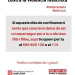 """""""Per un establiment segur contra la violència masclista"""""""
