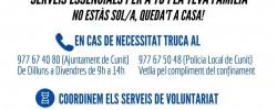 Imatge de Recordeu, si us trobeu o sabeu d'algun cas d'emergència, cal trucar a l'Ajuntament 6
