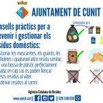Com gestionar els residus domèstics: mascaretes i guants usats