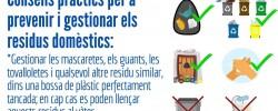 Imatge de Com gestionar els residus domèstics: mascaretes i guants usats 5