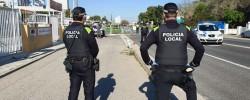Imatge de La Policia Local controla el perímetre del municipi 9