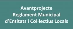 Imatge de S'obre a l'audiència de la ciutadania la proposta de Reglament Municipal del Registre d'Entitats i Col·lectius Locals 4