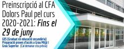 Imatge de Preinscripcions al CFA Dolors Paul pel curs 2020-2021 4