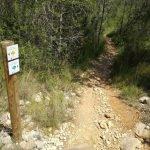 Es posa a punt la senyalització de les rutes rurals de Cunit