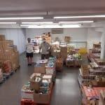 La Creu Roja recull uns 3.200 kg de productes higiènics als supermercat de Cunit