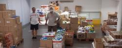 Imatge de La Creu Roja recull uns 3.200 kg de productes higiènics als supermercat de Cunit 6