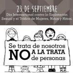 Avui, 23 de setembre, Dia Internacional contra l'explotació sexual i el tràfic de dones i infants