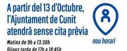 Imatge de L'OAC de l'Ajuntament de Cunit atendrà sense cita prèvia 7
