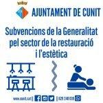 Subvencions de la Generalitat pel sector de la restauració i el de l'estètica