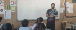 Imatge de Activitat informativa sobre els serveis juvenils a l'alumnat de 6è de les escoles del municipi 4
