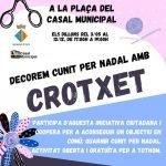 Sorgeix una iniciativa ciutadana per elaborar decoració de Nadal amb Crotxet