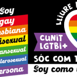 Cunit commemora el 17 de maig, Dia contra la LGTBI+Fòbia