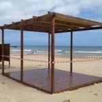 La platja tindrà noves zones d'ombra