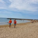 A punt les platges de Cunit per la temporada d'estiu