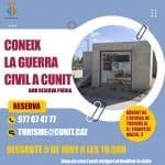 Comencen les visites patrimonials guiades a Cunit