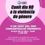 Concentració feminista aquesta nit davant de l'Ajuntament a les 22h