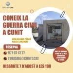 Read more about the article Continuen les visites patrimonials guiades a Cunit