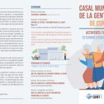 Read more about the article El Casal Municipal de la Gent Gran iniciarà el nou curs amb moltes activitats