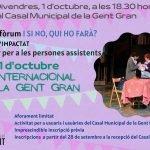 Read more about the article Cunit celebra el Dia Internacional de la Gent Gran el proper 1 d'octubre