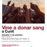 Read more about the article El dissabte 11 de setembre, Dóna sang al Casal Municipal de la Gent Gran!