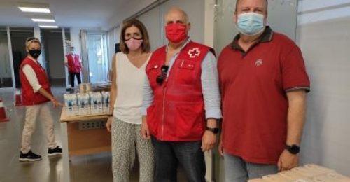 Col.laboració amb Creu Roja